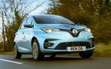Renault Zoe - hero front
