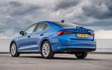 Skoda Octavia hatchback 2020 UK first drive review - static rear