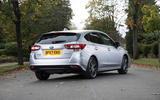 Subaru Impreza 2018 UK review static rear