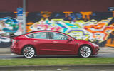Tesla Model 3 Performance 2019 first drive review - on the road side