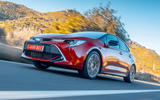 Toyota Corolla hybrid hatchback 2019 first drive review - on the road low