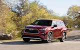 Toyota Highlander Hybrid 2020 first drive review - on the road front