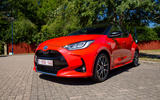 Toyota Yaris hybrid 2020 UK first drive review - static