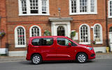 Vauxhall Combo Life 2018 UK first drive review on the road right