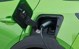 21 Vauxhall Mokka e 2021 UK first drive review charging port
