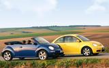 Volkswagen Beetles - stationary sides