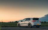 21 Volkswagen Golf GTI Clubsport 45 2021 UK FD static rear
