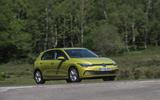 Volkswagen Golf - hero front