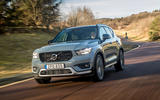 Volvo XC40 Recharge T5 2020 first drive review - on the road tracking