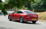 Volkswagen Arteon 2018 long-term review on the road rear