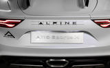 2020 Alpine A110 SportsX concept - numberplate