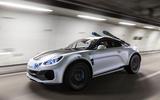 2020 Alpine A110 SportsX concept - front