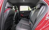 Audi Q2 rear seats