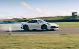 Porsche 911 2019 - tracking side