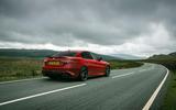 Alfa Romeo Giulia Quadrifoglio 2020 UK first drive review - tracking rear