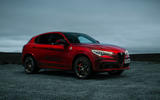 Alfa Romeo Stelvio Quadrifoglio 2020 UK first drive review - static