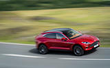 Aston Martin DBX 2020 UK first drive review - on the road side
