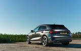 Audi A3 Sportback 2020 UK first drive review - static rear
