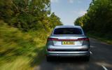 Audi E-tron Sportback 55 2020 UK first drive review - rear end