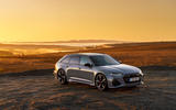 Audi RS6 2020 UK first drive review - static front