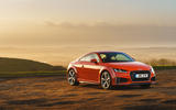 Audi TT Coupe 2019 UK first drive review - static front