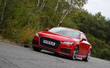 Audi TT Coupe - hero front