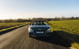 Audi TT Roadster 2019 UK first drive review - on the road nose