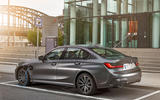BMW 3 Series 330e 2019 first drive review - static rear