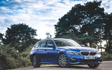 BMW 3 Series Touring 320d 2019 UK first drive review - static front