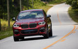 BMW X4 2018 first drive review on the road front