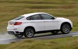 BMW X6 - hero side