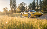 Ferrari F8 Tributo Spider 2020 UK first drive review - static front