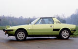Fiat X1/9 - static side