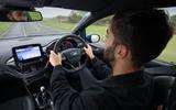 Ford Fiesta ST 2019 long-term review - Sam Sheehan driving