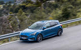 Ford Focus ST 2019 first drive review - on the road above