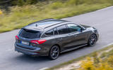 Ford Focus ST estate EcoBlue 2019 first drive review - on the road aerial