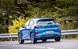 Ford Puma 2020 first drive review - cornering rear