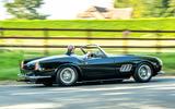 22 GTO California Spyder revival 2021 UK FD on road side