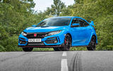 Honda Civic Type R 2020 UK first drive review - static