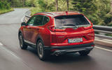 Honda CR-V 2018 first drive review on the road rear