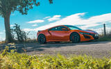 Honda NSX 2019 UK first drive review - static