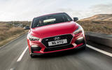Hyundai i30 Fastback N 2019 UK first drive review - on the road nose