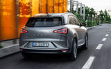 Hyundai Nexo 2019 first drive review on the road rear