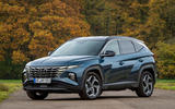 Hyundai Tucson 2020 UK first drive review - static front