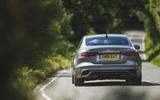 Jaguar XE P300 2019 UK first drive review - on the road rear