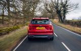 22 Kia Sorento PHEV 2021 UK first drive review on road rear