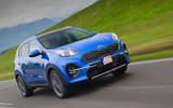 Kia Sportage GT-Line S 48V 2018 first drive review on the road front