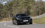 Kia Stinger 2.2 CRDi 2018 UK review cornering front