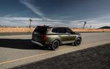 Kia Telluride 2019 first drive review - static rear
