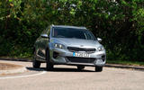 Kia Xceed plug-in hybrid 2020 UK first drive review - cornering front